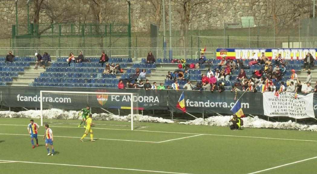 El FC Andorra descomptarà als abonats un 25% del preu del carnet de soci de la temporada vinent