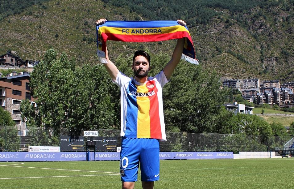 El FC Andorra fitxa David Ballarín