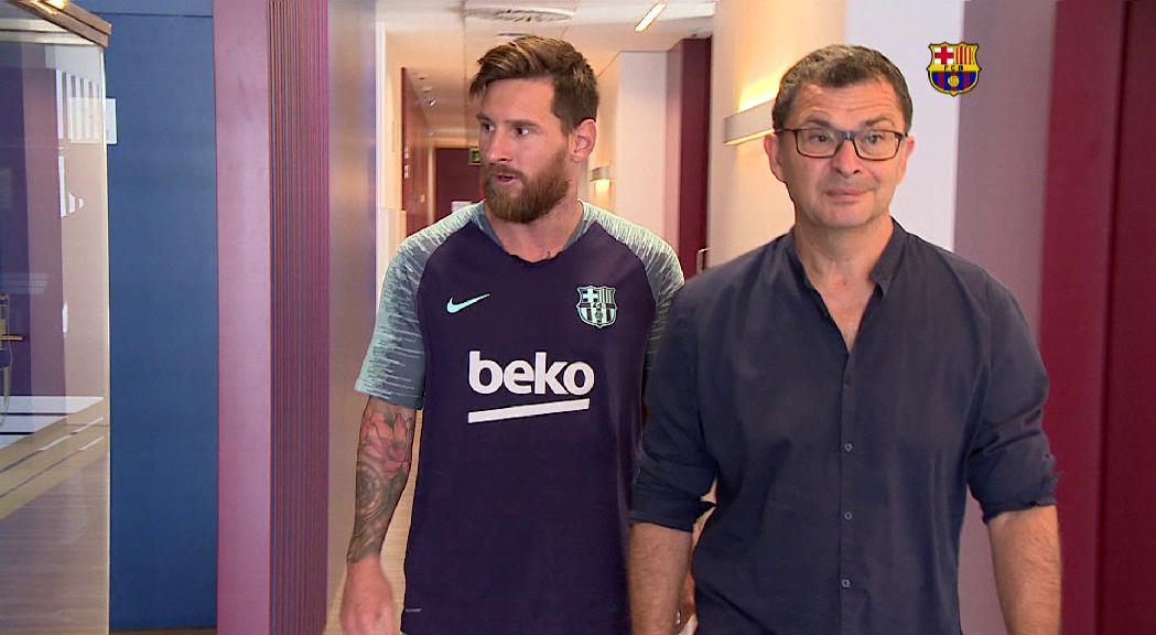 El FC Andorra fitxa el doctor Ricard Pruna, cap dels serveis mèdics del Barça durant 25 anys
