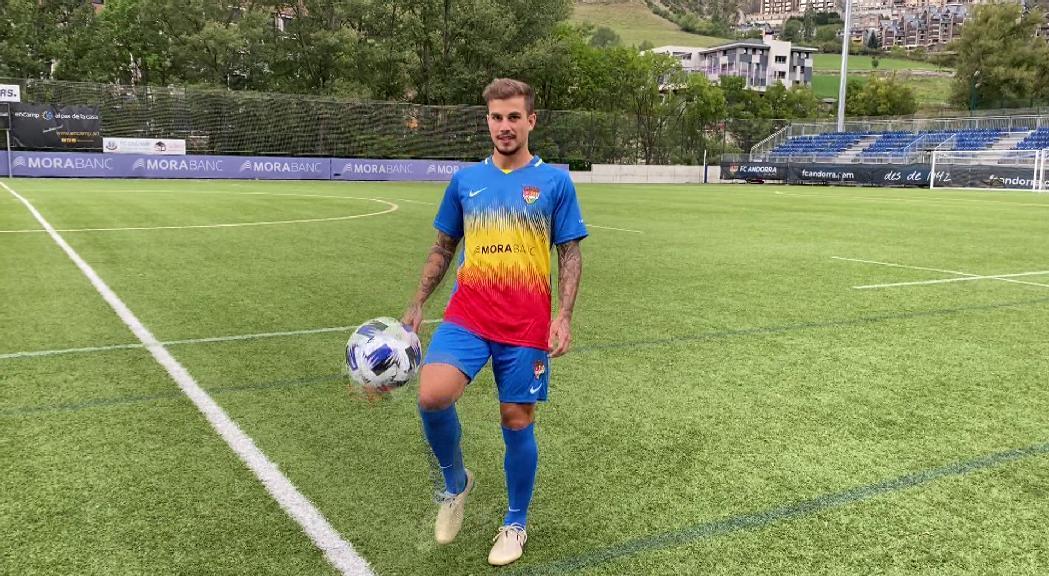 El FC Andorra fitxa l'extrem Isma Cerro de l'Sporting de Gijón