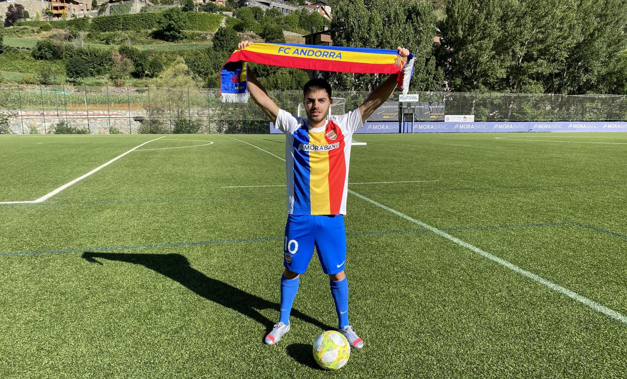 El FC Andorra fitxa el lateral català de 21 anys Martí Vilà