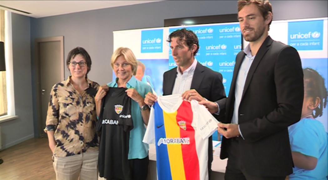 L'FC Andorra fixa l'abonament en 80 euros i portarà el logo d'Unicef a la samarreta