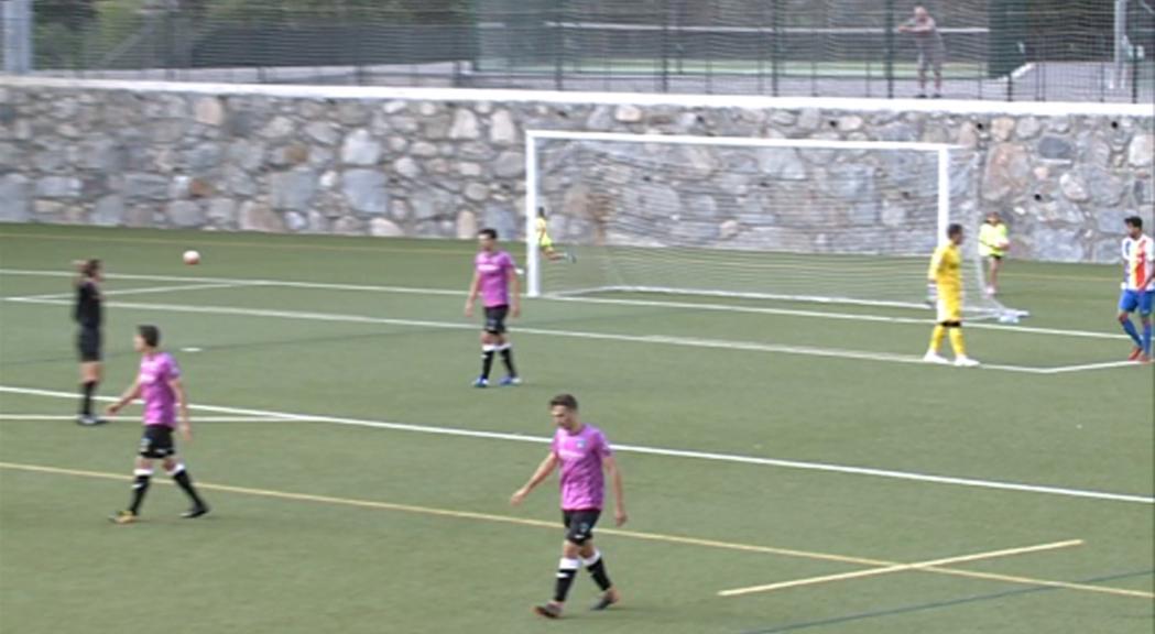 El FC Andorra guanya al Lleida i ja és a la tercera ronda de la Copa Catalunya