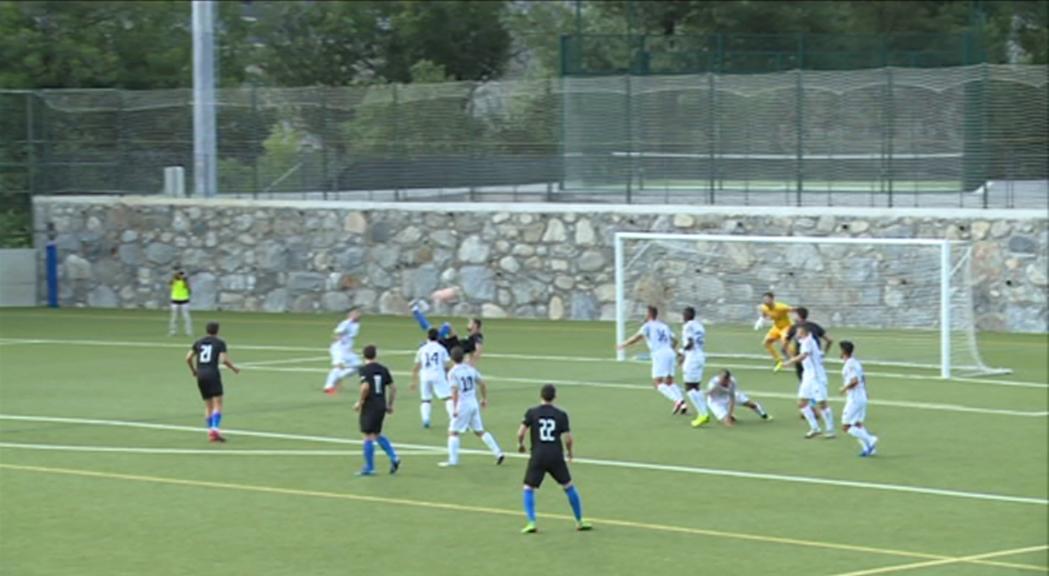 El FC Andorra derrota el Terrassa en la Copa Catalunya per començar la temporada (2-1)