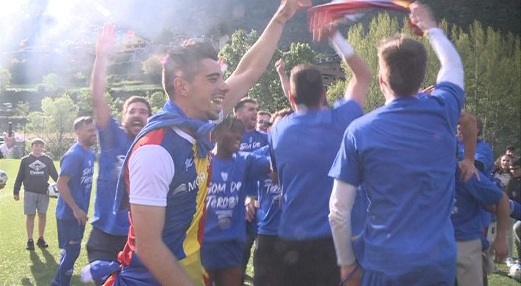 El FC Andorra ja és equip de Tercera Divisió