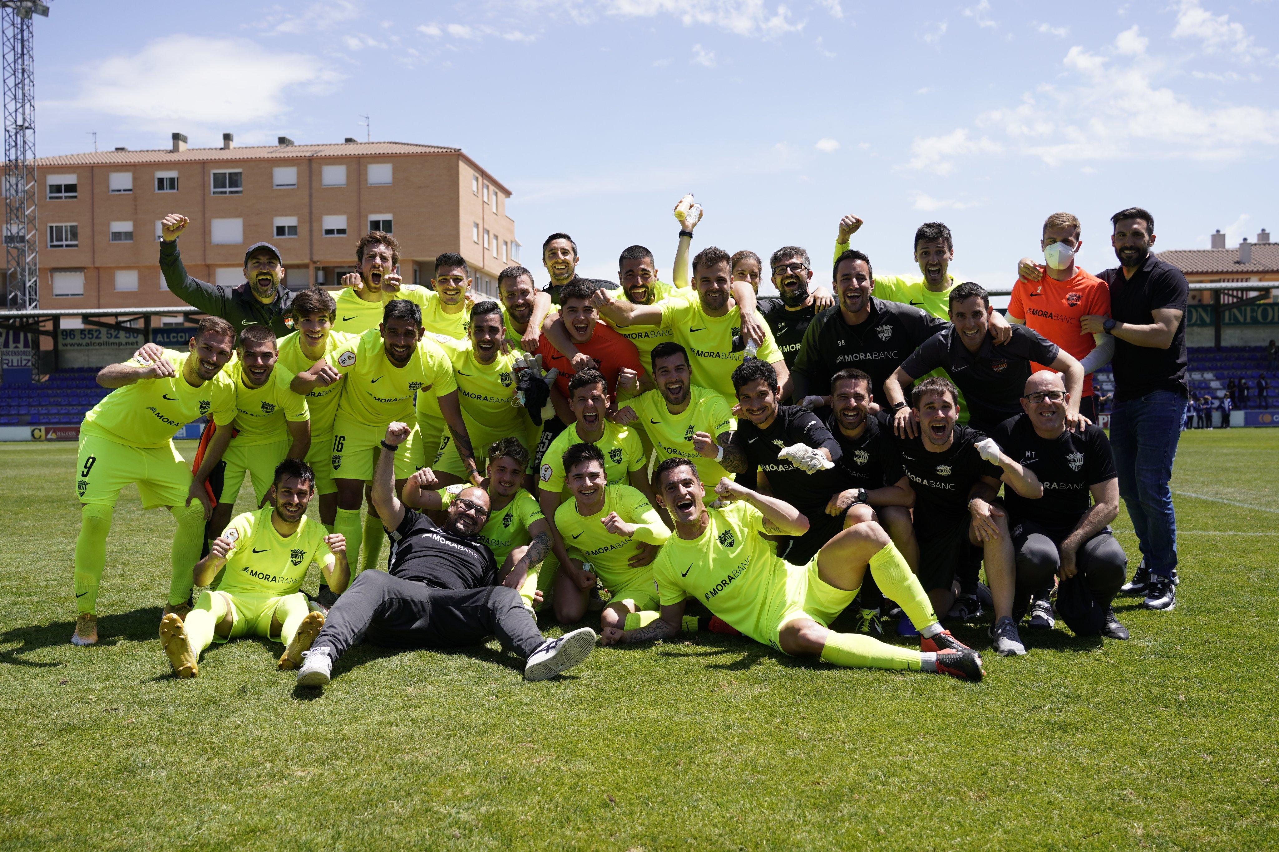 El FC Andorra jugarà el play off després d'una jornada rodona