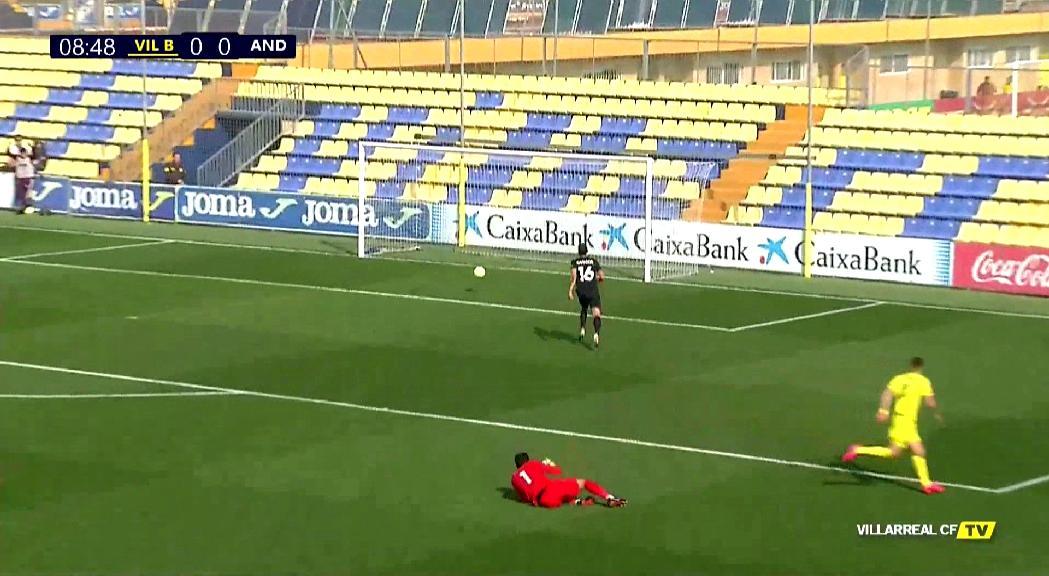 El FC Andorra no aixeca cap i perd al camp del Vila-real B (2-1)