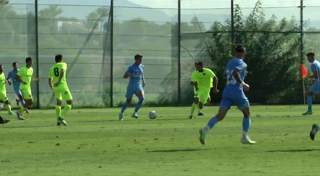 El FC Andorra perd en l'amistós de pretemporada contra l'Eivissa