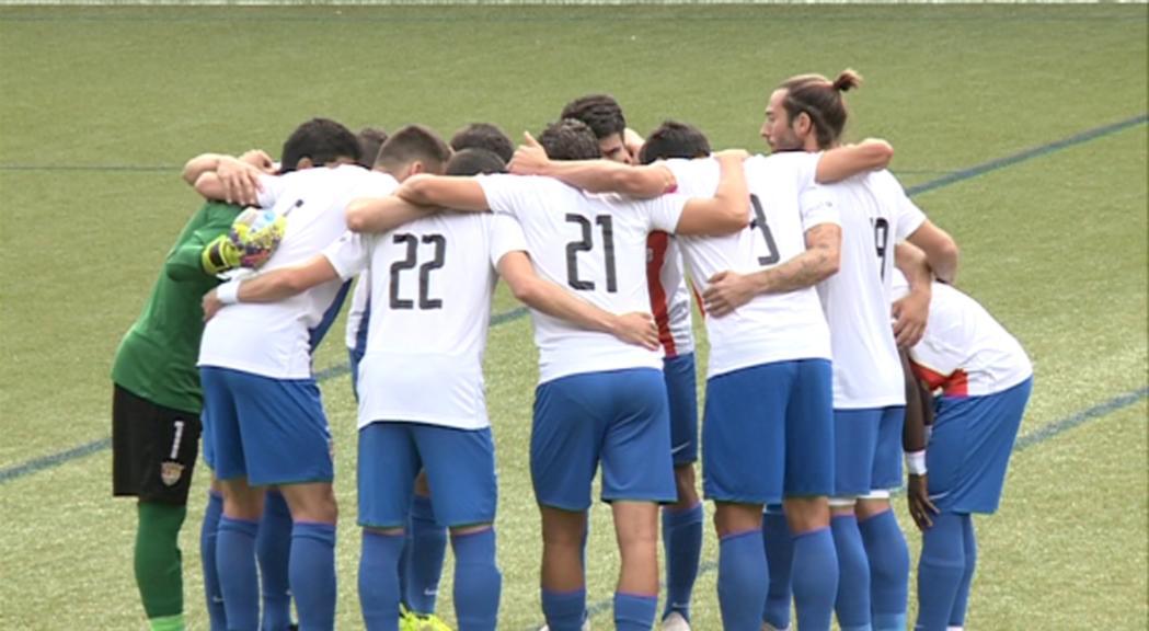 El FC Andorra eliminat de la Copa Catalunya