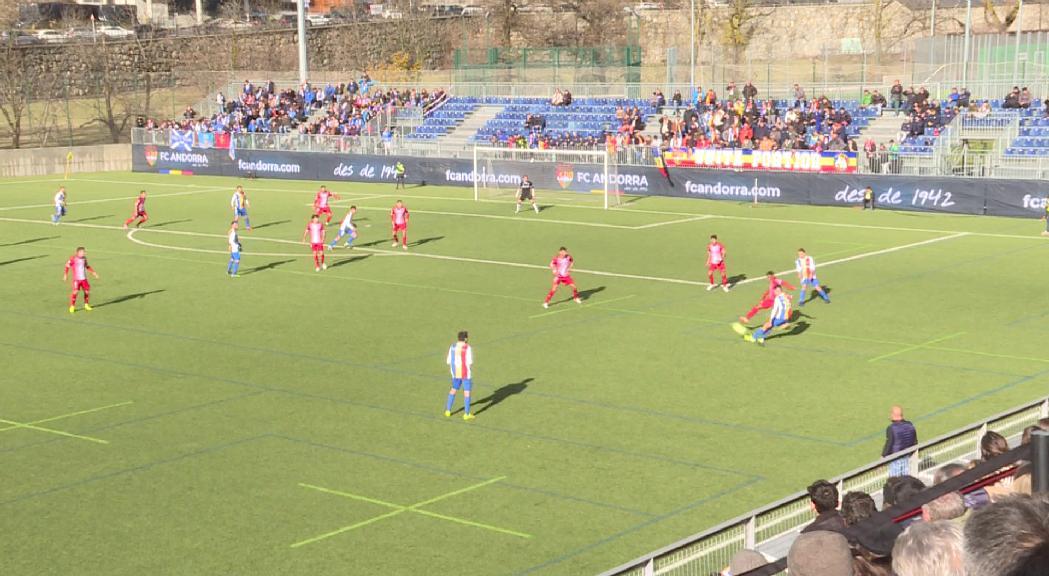 El Futbol Club Andorra es podrà acollir a les ajudes aprov