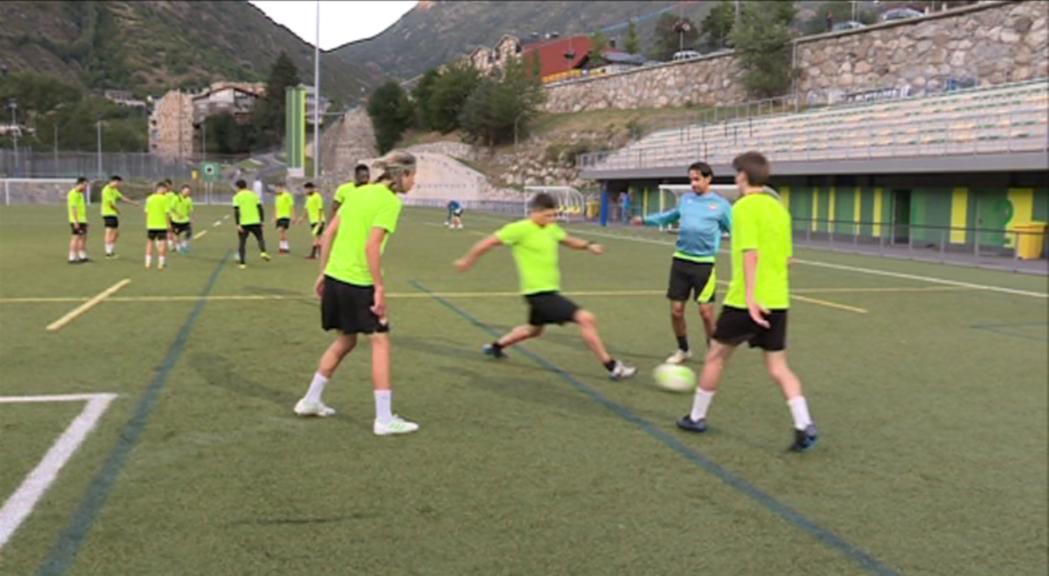 El FC Andorra posa en marxa el filial i suma Xavi Andorrà al projecte