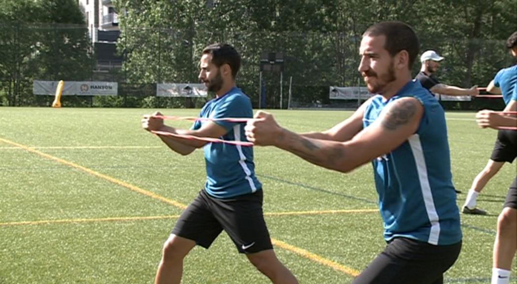 El FC Andorra es prepara per estrenar la temporada com a equip de segona B
