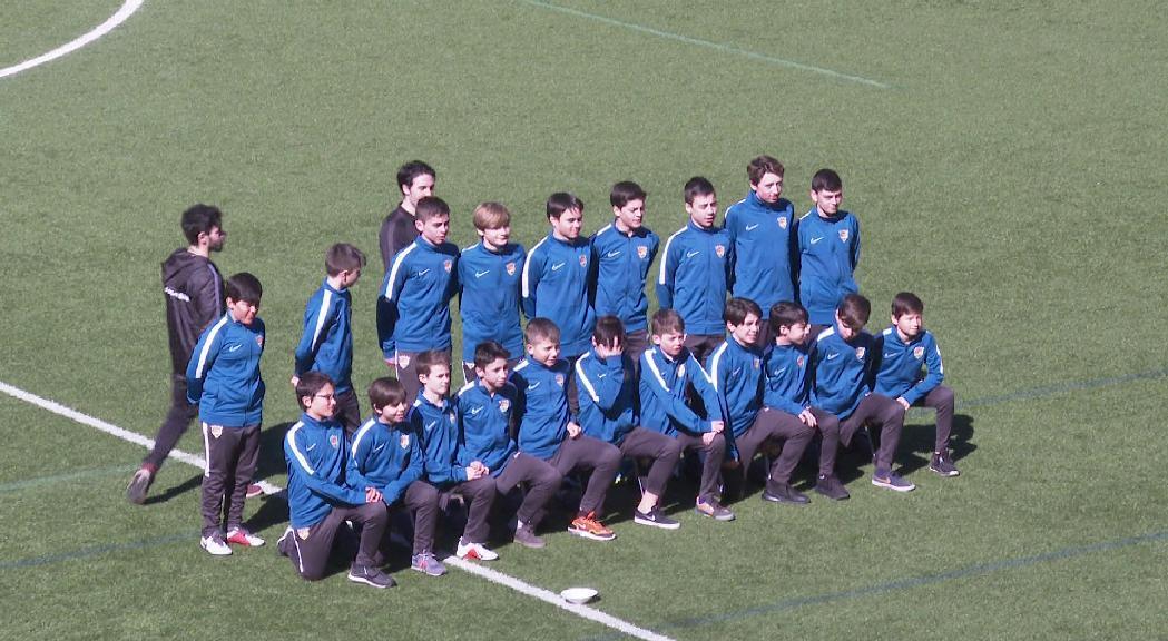 L'FC Andorra presenta els equips de la base