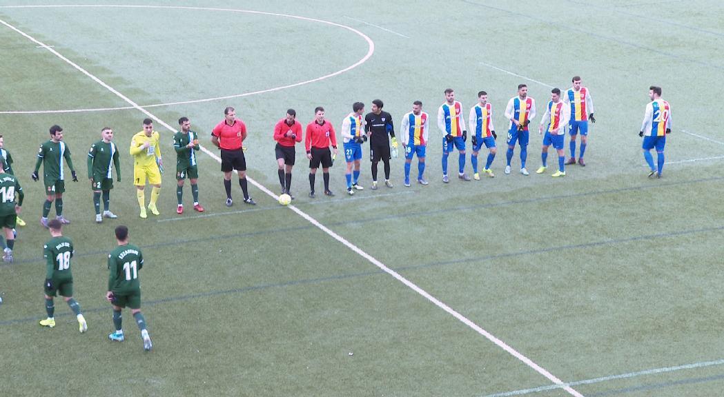 El FC Andorra surt de les places d'ascens