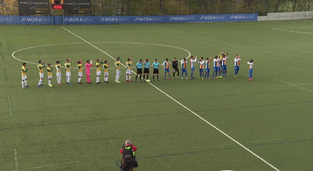 L'FC Andorra tira d'èpica per sumar un nou empat contra el Sabadell (2-2)