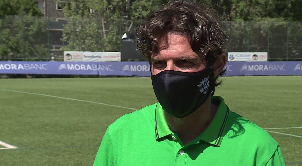 L'FC Andorra treballa per tancar el fitxatge de Rubén Enri