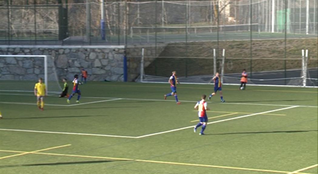 L'FC Andorra, a tres punts de la segona plaça