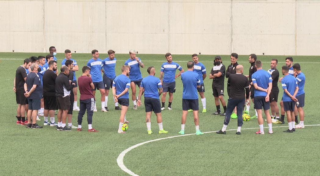 El FC Santa Coloma buscarà competir davant l'històric Hibernian a la Conference League