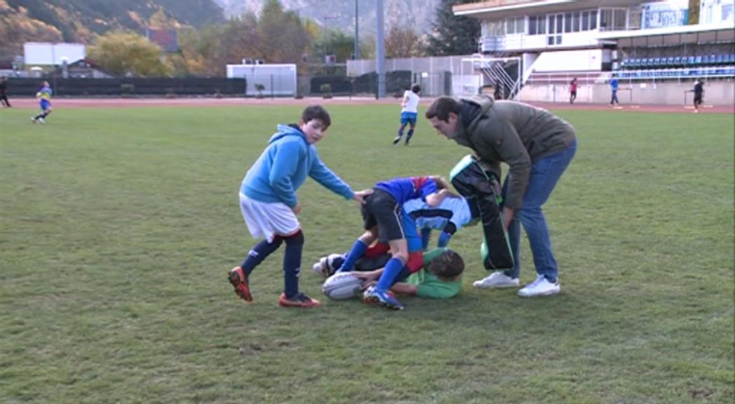 La federació impulsa el rugbi de 7 amb la participació a un torneig sub-12 a Mònaco