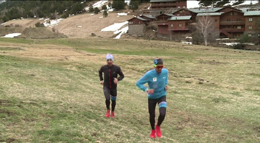 La Federació de Muntanyisme planteja recorreguts perquè els esportistes becats  puguin entrenar