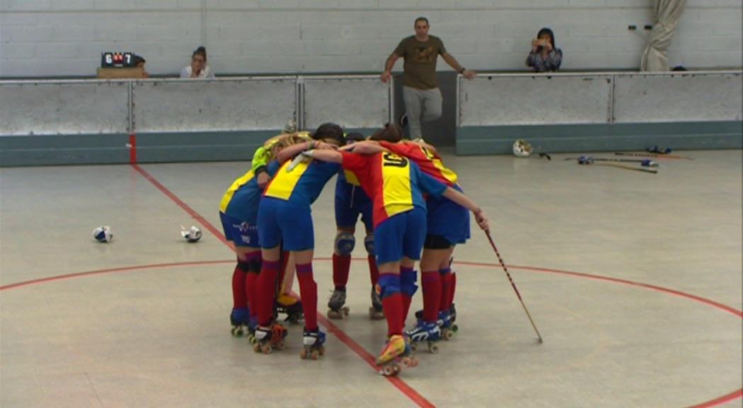 El femení de l'Andorra HC s'estrena amb un empat contra el Sant Cugat B (2-2)