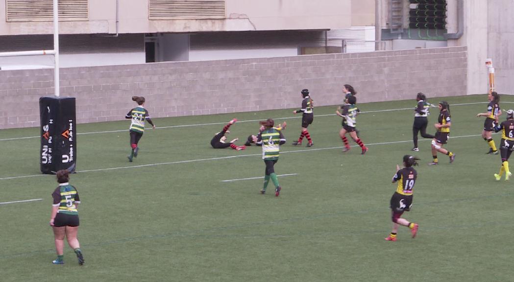 El femení del VPC firma una victòria d'escàndol contra el Químic-Alella (101-0)