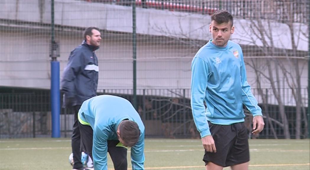 El fill de Tito Vilanova, Adrià Vilanova, ja entrena amb l'FC Andorra