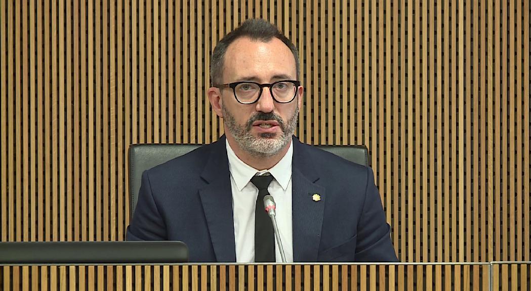Filloy diu al Consell que la inspecció dels centres sociosanitais no ha detectat irregularitats