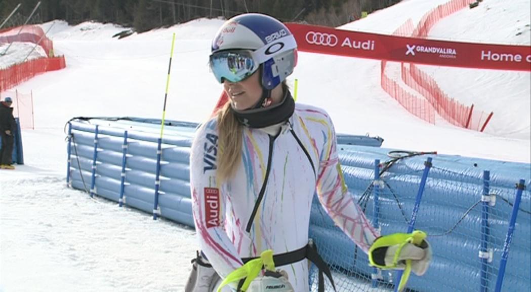 Les Finals de la Copa del Món d'Andorra seran el comiat de Lindsey Vonn
