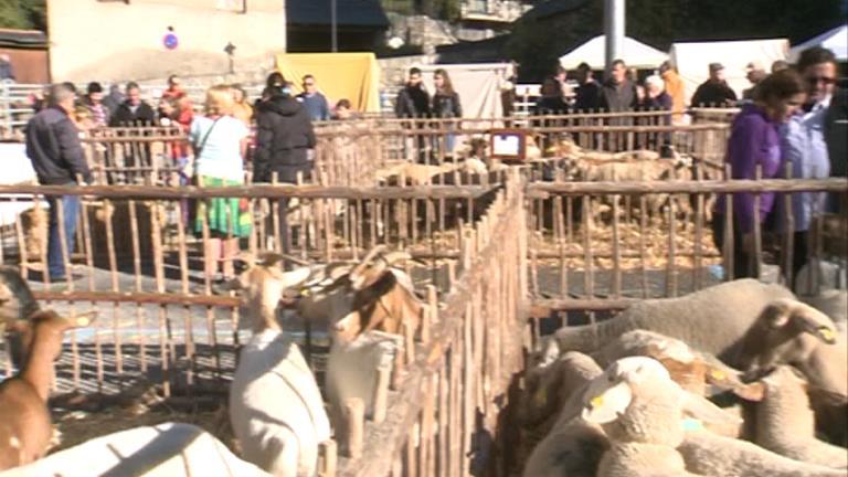 La fira de Canillo vol impulsar l'ofici de la ramaderia