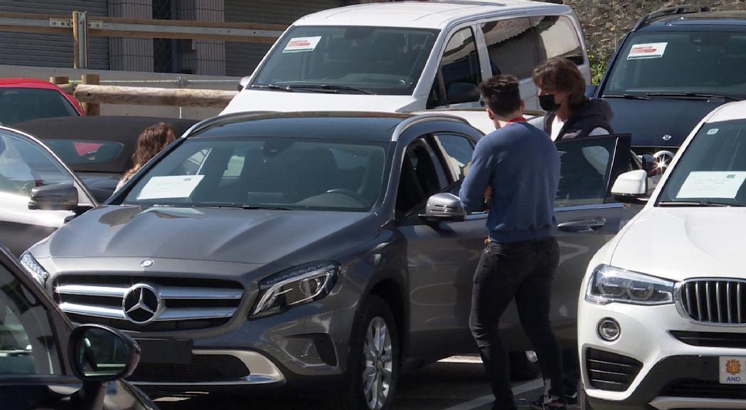 La fira del vehicle d'ocasió de Sant Julià acaba amb 34 vendes