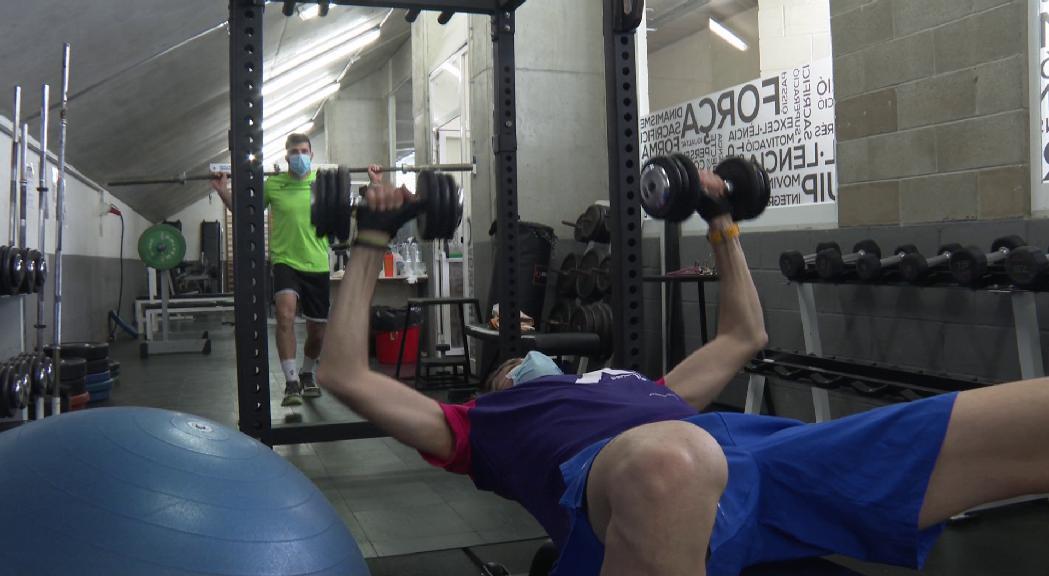 Folguera i Bernal tornen a entrenar junts un any després de l'or de Montenegro