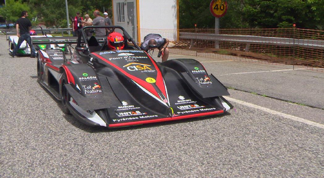 El francès Petit s'imposa en la primera cursa de la Pujada a Arinsal i Ferré abandona per problemes mecànics