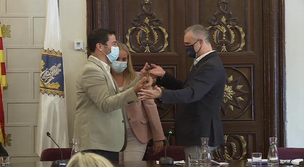 Francesc Viaplana és ja el nou alcalde de la Seu d'Urgell