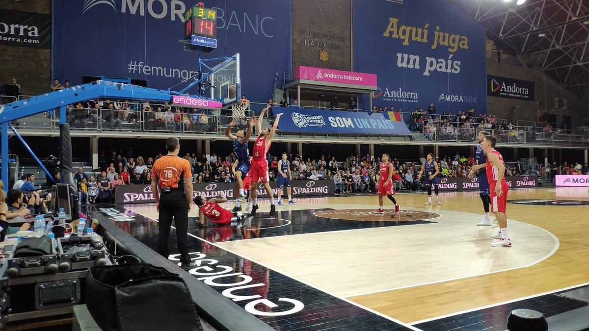 El MoraBanc Andorra ha sumat aquest dissabte la quarta derrota de