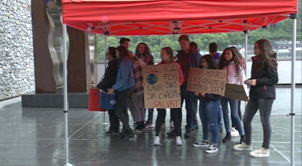 Fridays for Future demana que el Govern declari Andorra en estat d'emergència climàtica