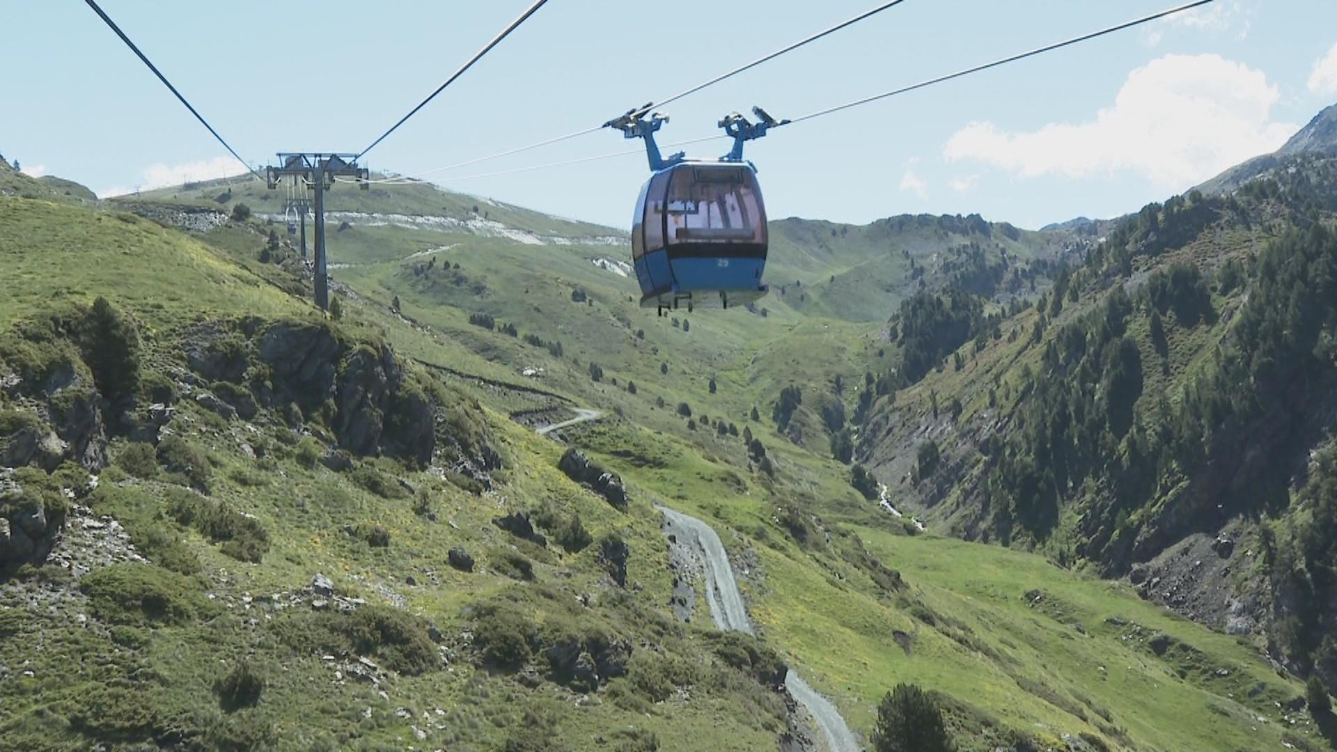 El Funicamp obre 15 dies abans la temporada d'estiu amb 11 noves rutes de BTT