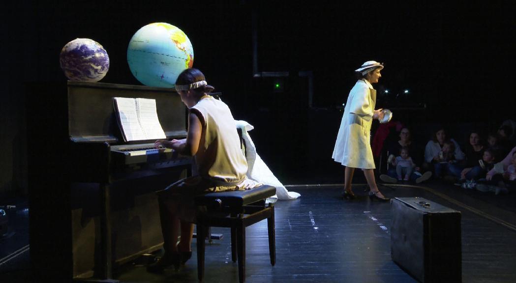 Fusió de teatre, música i cine mut al Prat del Roure