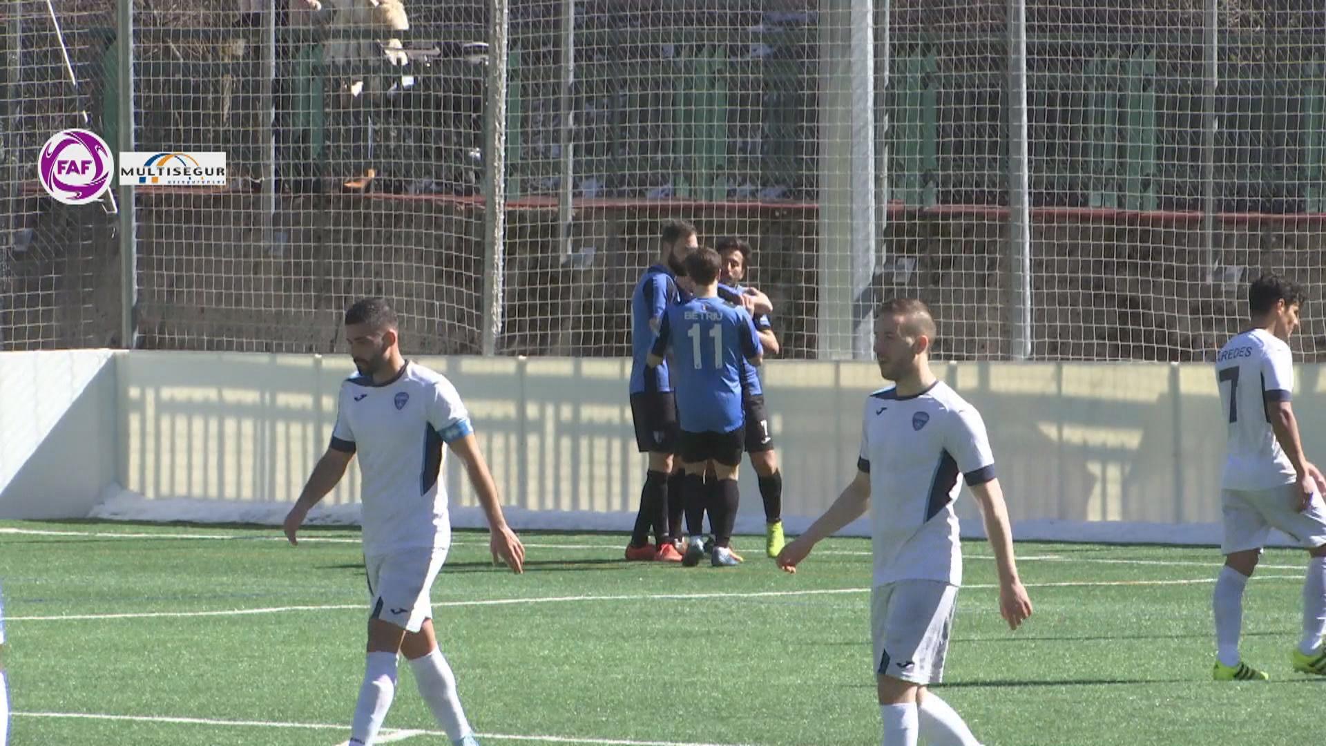 El futbol nacional s'atura també dues setmanes