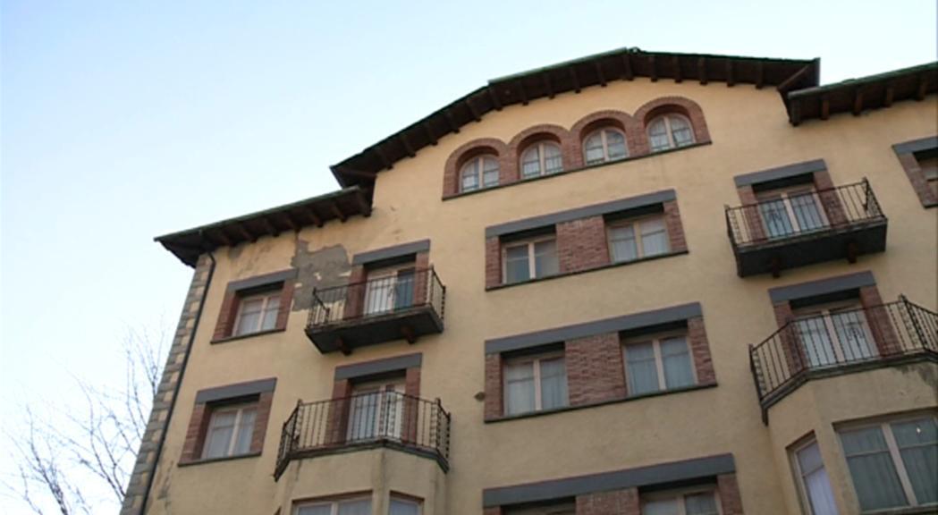 El futur de l'Hotel Casamanya, al centre de la polèmica sobre el Quart d'Ordino