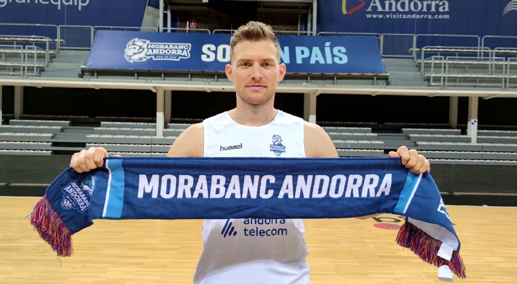 Gal Mekel supera la revisió i estarà disponible per debutar amb el MoraBanc Andorra aquest dissabte
