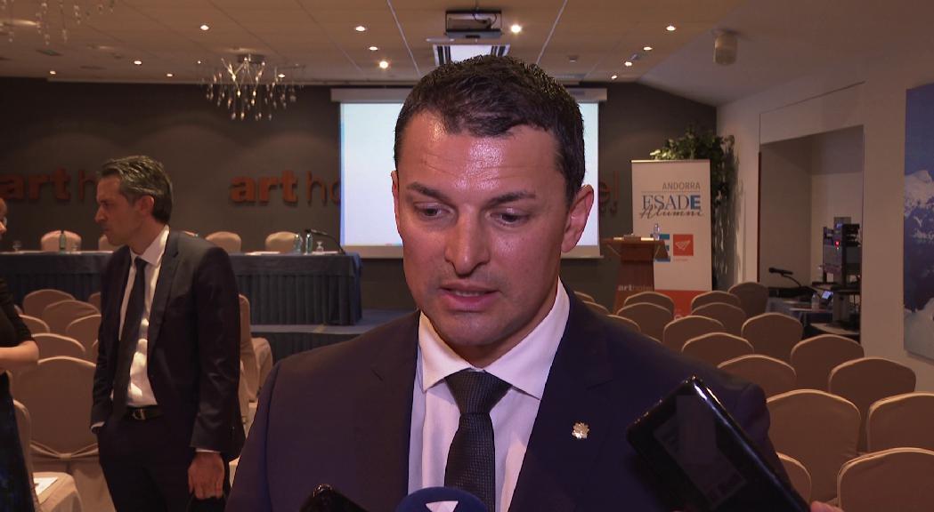 Gallardo demana als comerciants del Pas implicació en el nou Consell econòmic i social