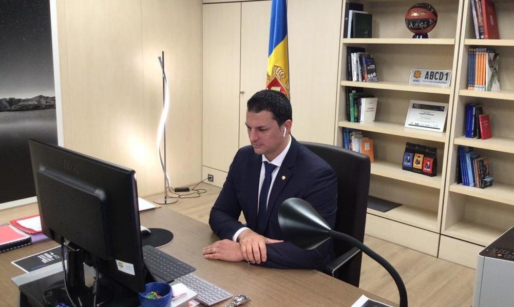 El ministre de Presidència, Economia i Empresa, Jordi Gall