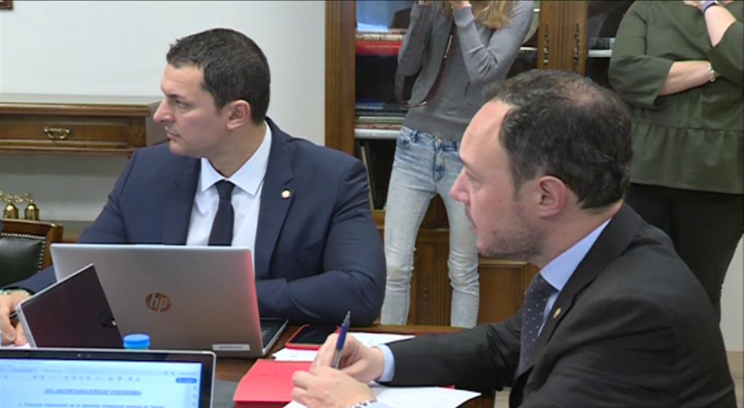 """Gallardo prioritza el pacte per sobre dels càrrecs: """"Cap nom ha de posar en risc l'entesa entre els dos partits"""""""