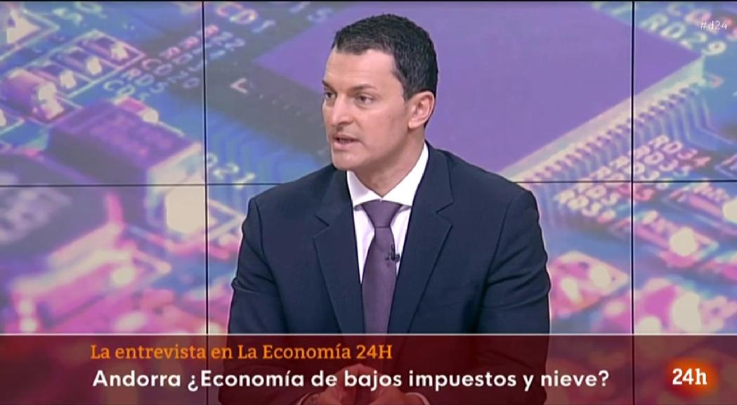 Gallardo reitera a Televisió Espanyola que Andorra no és un paradís fiscal