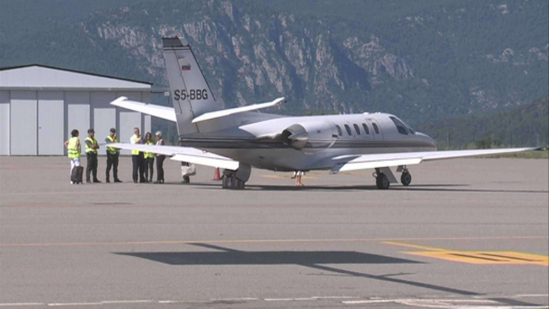 La Generalitat confirma l'interès de companyies de vols regulars per l'aeroport Andorra-la Seu i no el limitarà als xàrter