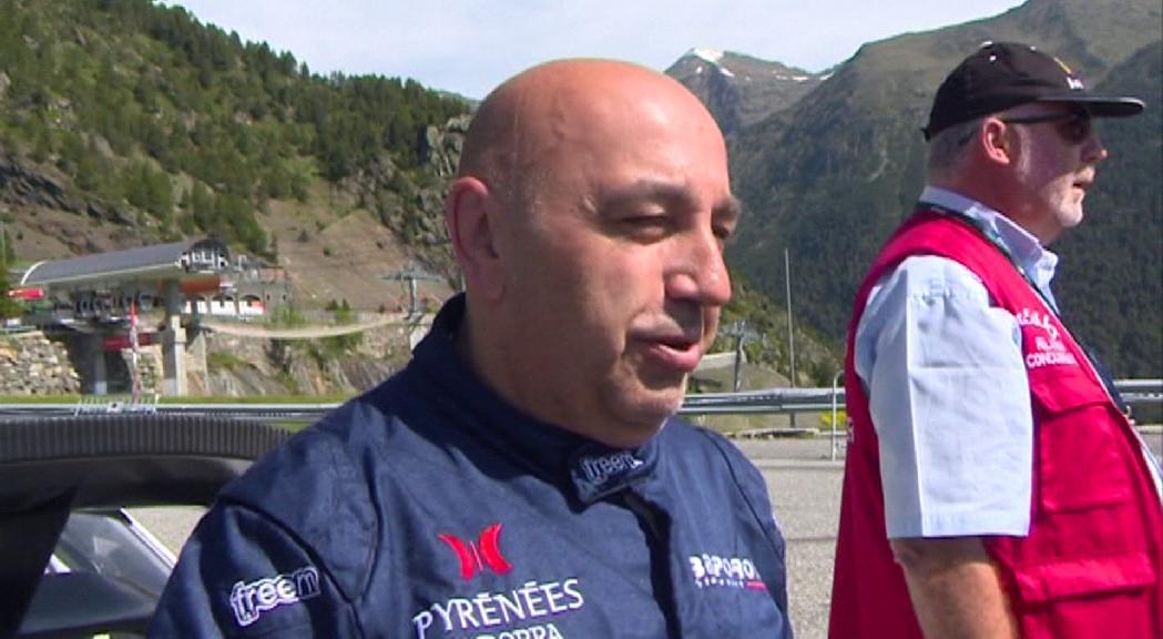 Gerard de la Casa, sotscampió del Campionat d'Espanya de Ral·lis de Muntanya