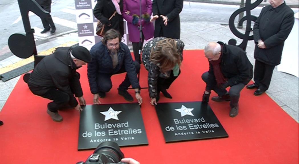 Els germans Claret ja tenen la seva placa commemorativa al Boulevard de les Estrelles