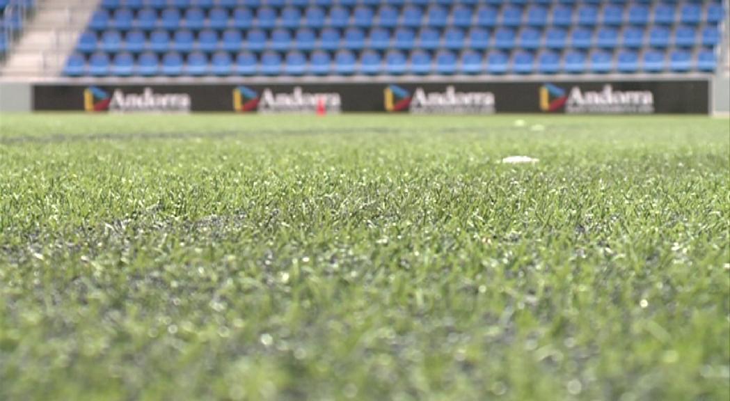 La gespa prevista per a la Borda Mateu es col·locarà provisionalment a l'Estadi Nacional