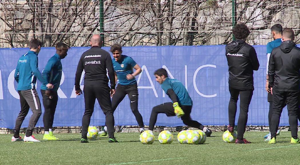 'Gols per Unicef', la darrera acció solidària del FC Andorra
